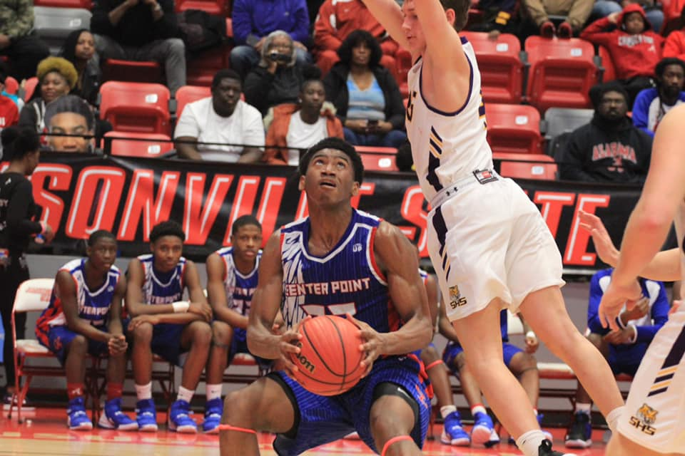 Center Point boys' basketball joins girls in Final Four after blowing past Springville in Class 5A regional championship