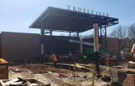 TRUSSVILLE DOWNTOWN REDEVELOPMENT: Rain delays projects, roundabout proposed for loop road