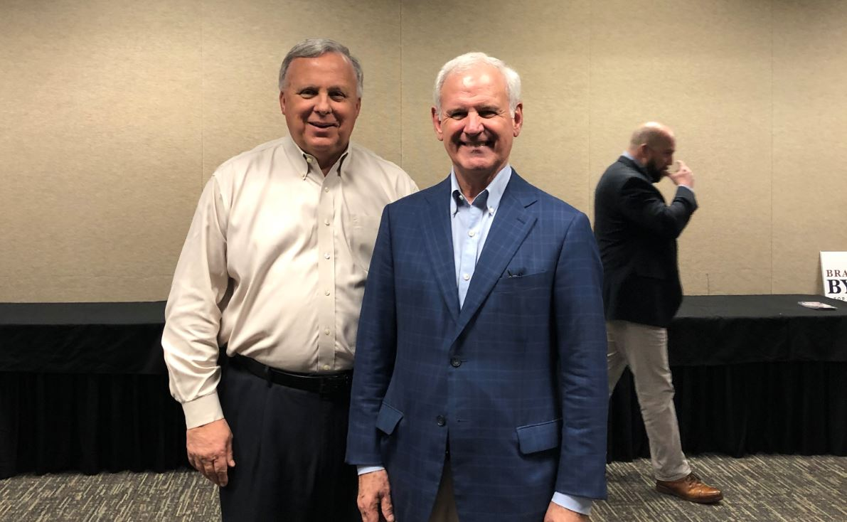Alabama Congressman Bradley Byrne makes Senate campaign stop in Trussville