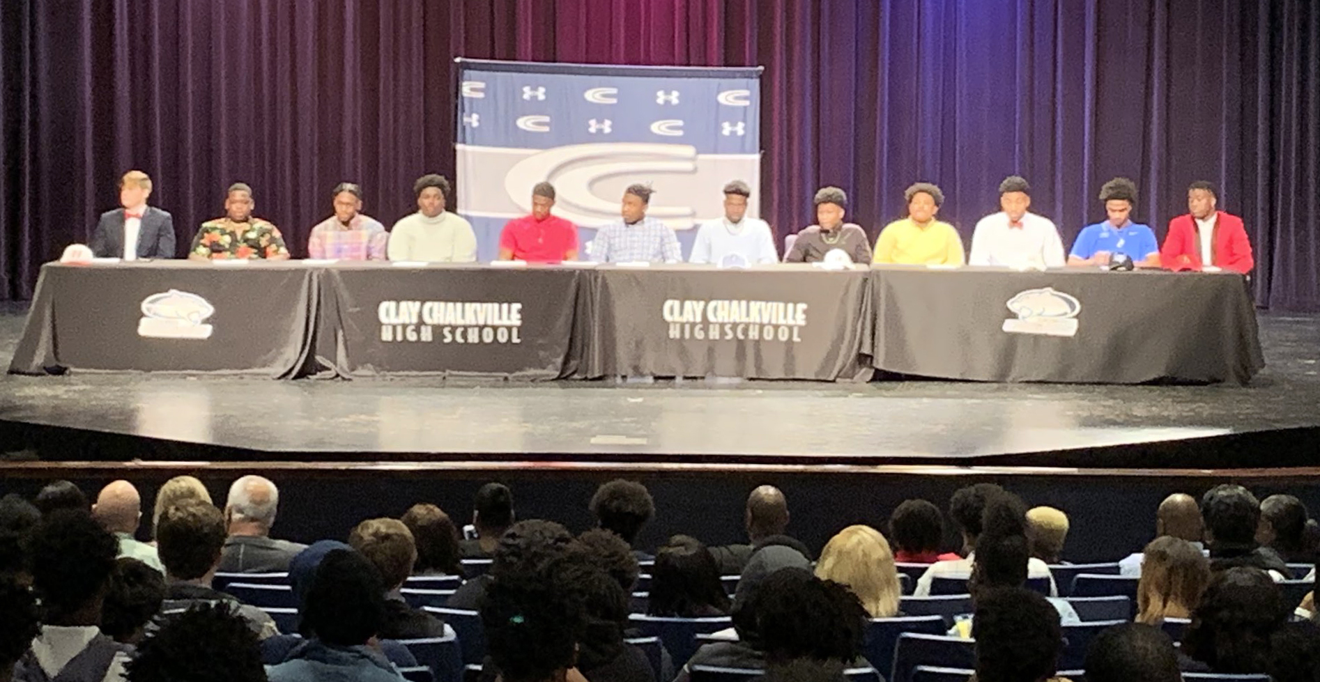 Clay-Chalkville witnesses a dozen players realize their dream of playing collegiate football
