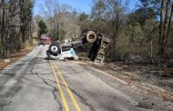 UPDATE: Road reopen after Trussville Gas and Water truck crashes on Happy Hollow Road