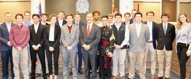 Hewitt-Trussville student one of 25 nominated in Alabama for U.S. Service Academies