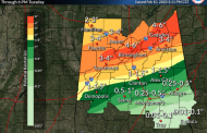 Downpours cause flooding across Deep South