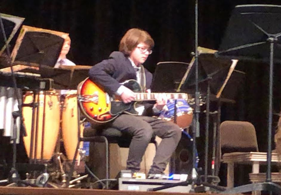 Trussville teen places 1st for Alabama All-state Middle School Jazz Band