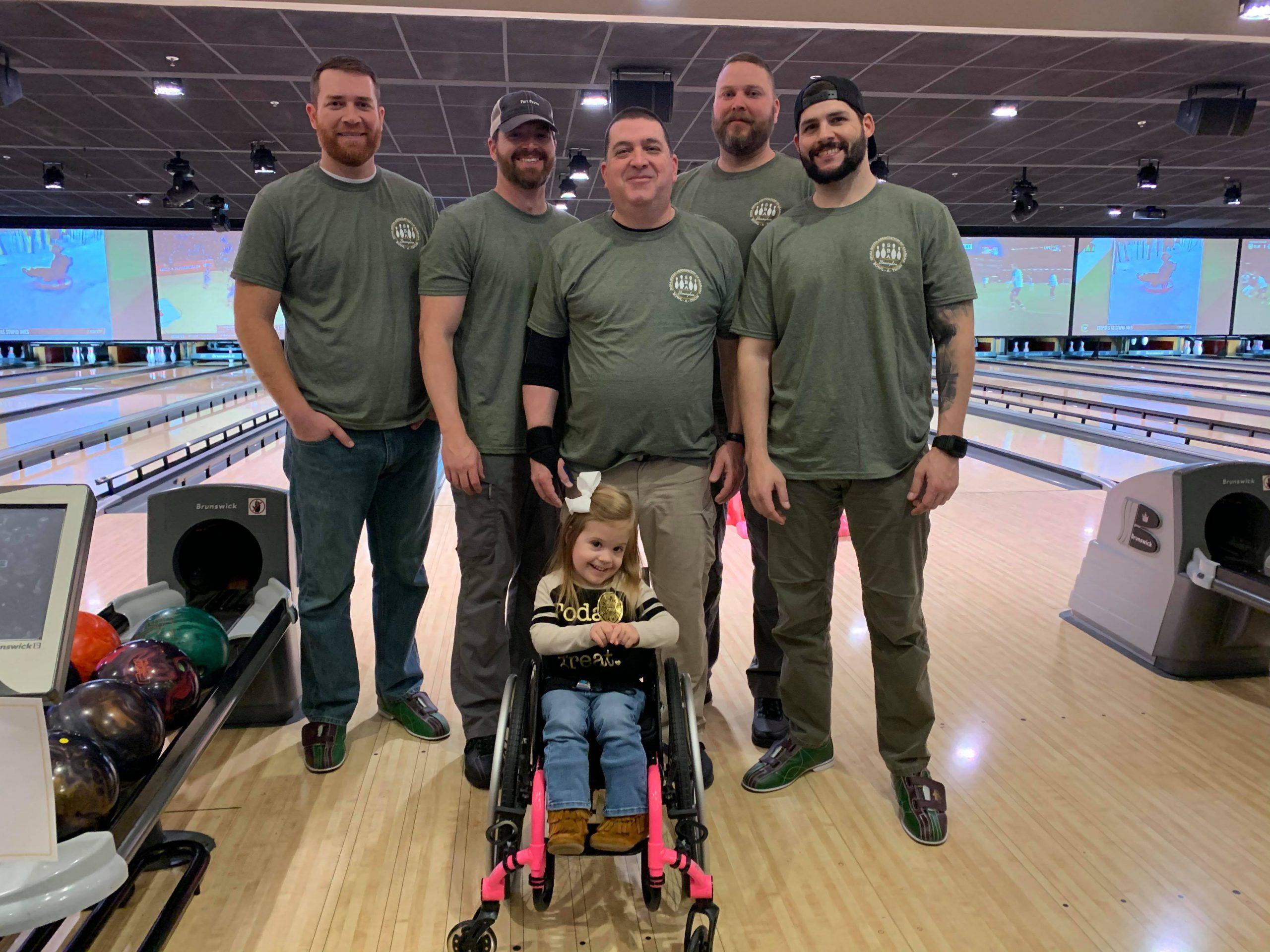 Trussville PD participates in Birmingham Bowl-a-Thon to benefit Spina Bifida Association of Alabama