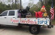 VIDEO: 'Happy Everything, Ford' parade brightens day of Trussville child battling leukemia