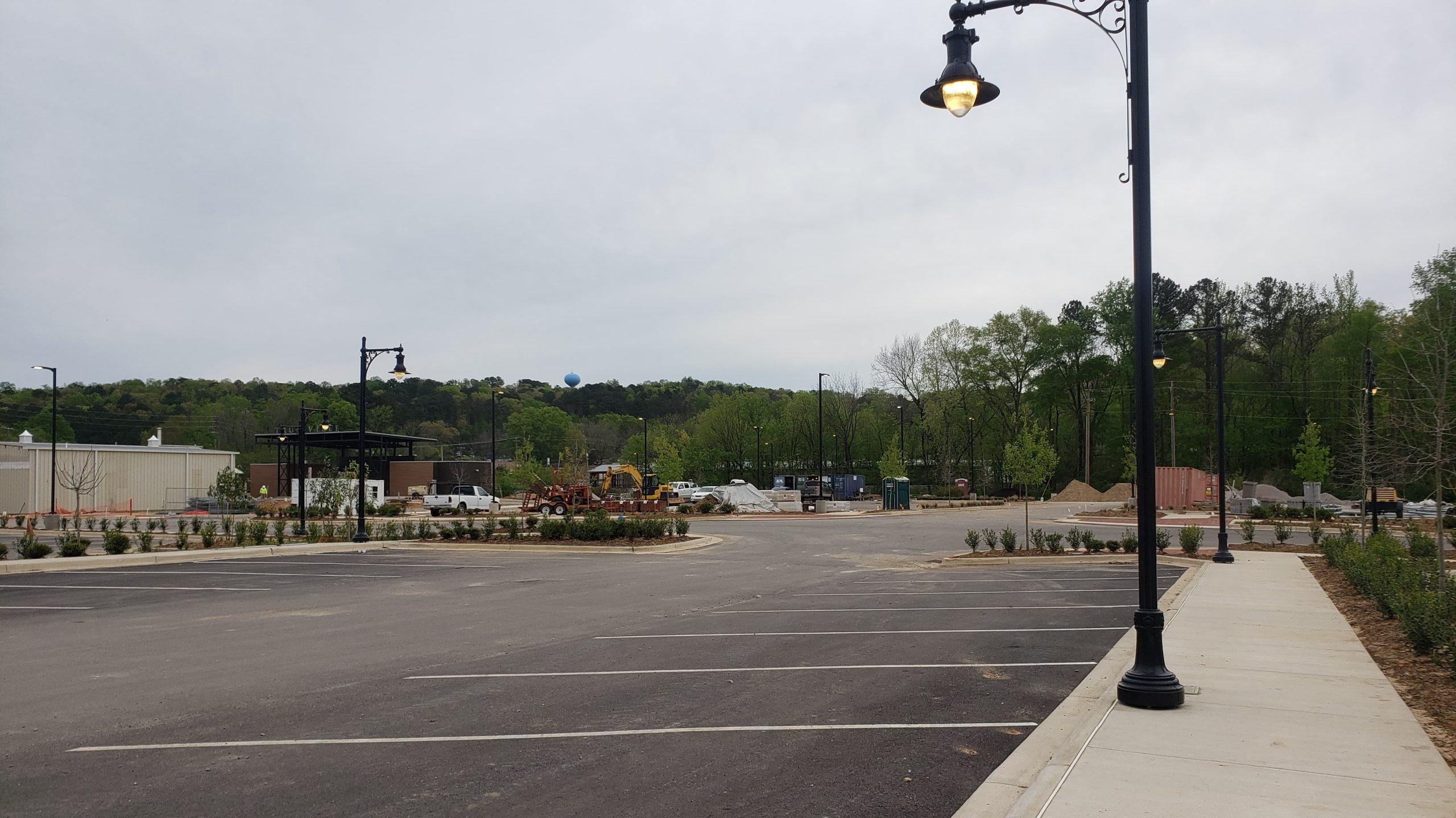 Trussville's downtown redevelopment taking shape after installation of sidewalks, lighting
