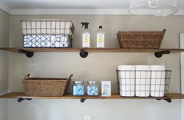 Diy Laundry Room Shelves The Trussville Tribune
