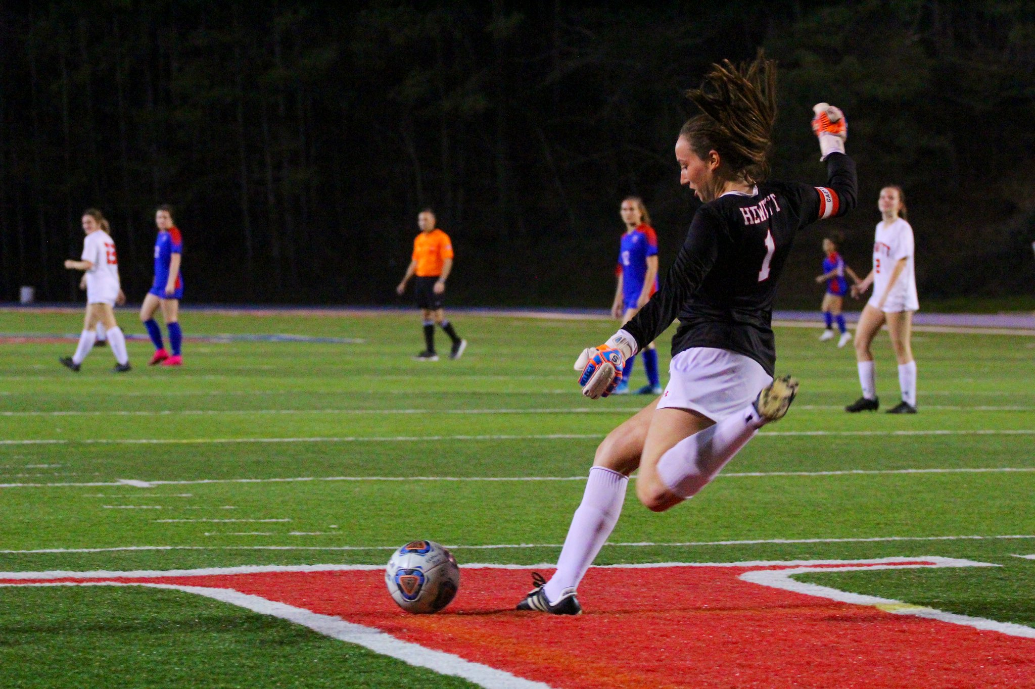 HTHS girls' soccer holds its own against one of nation's top programs