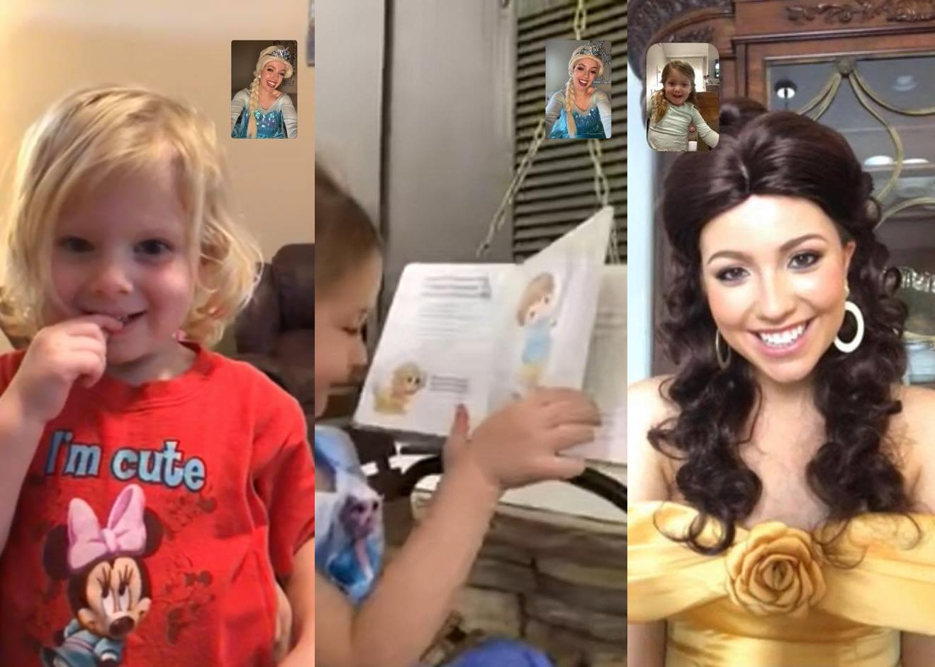 Trussville princesses offering video calls during coronavirus outbreak