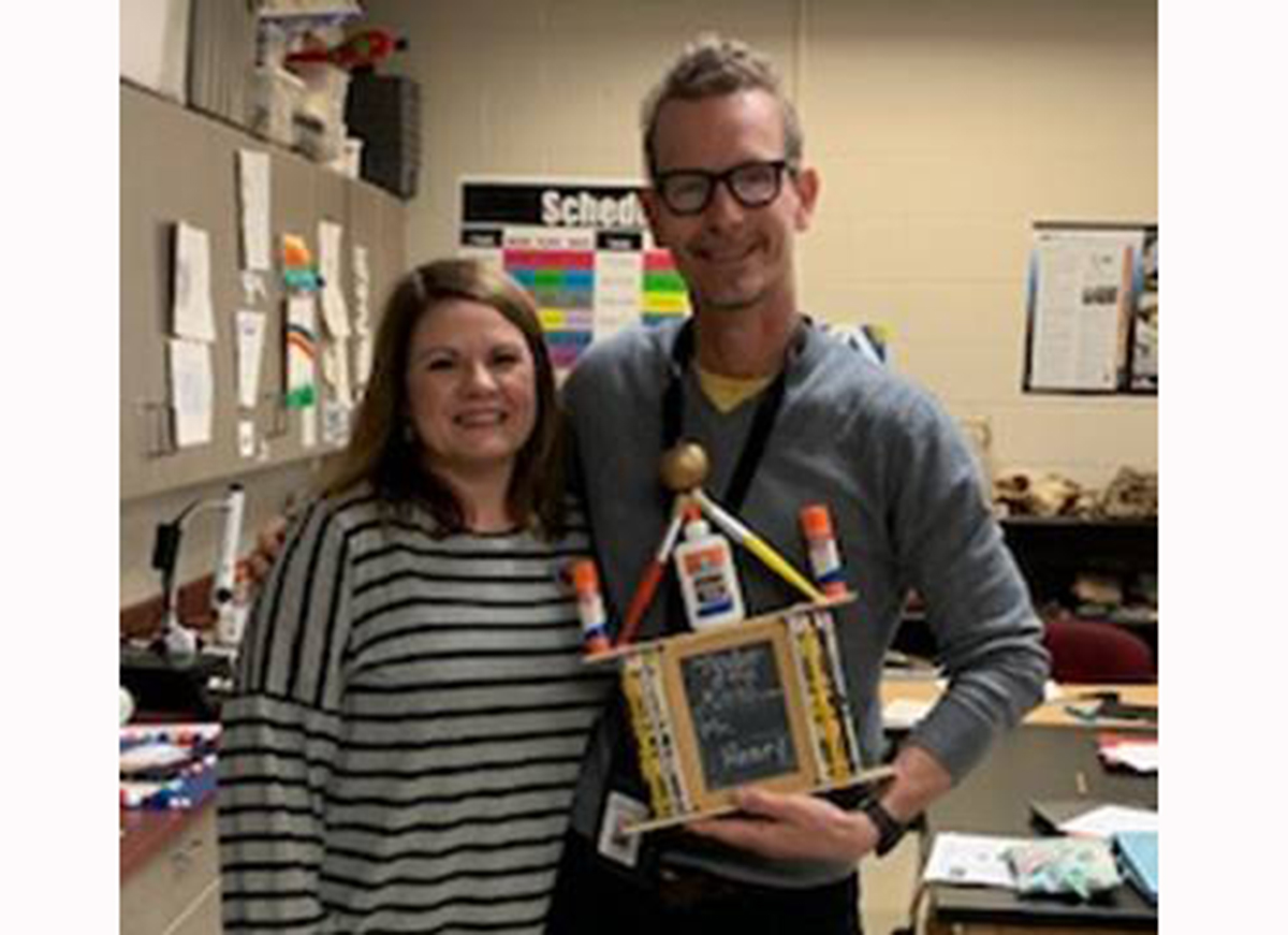 Hewitt-Trussville Middle School February Teacher of the Month announced