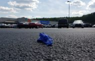 Trussville Walmart parking lot littered with gloves, masks