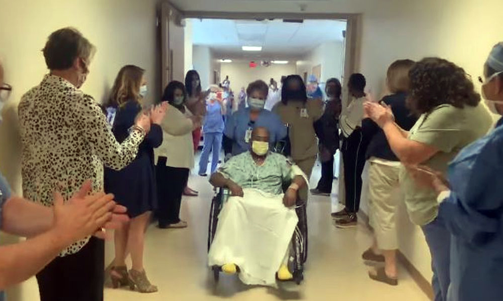 Jefferson State Community College donates ventilators to EAMC as hospital celebrates first virus patient's recovery from coronavirus