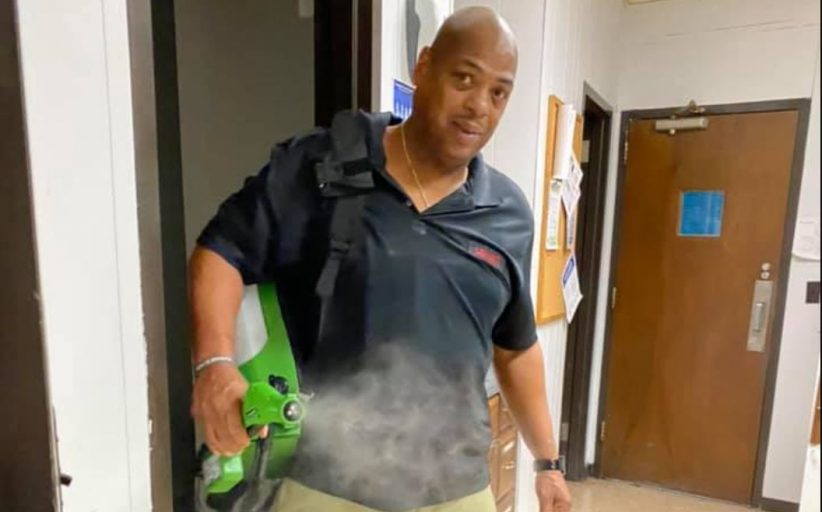 Moody custodian goes far beyond duties at schools during coronavirus outbreak
