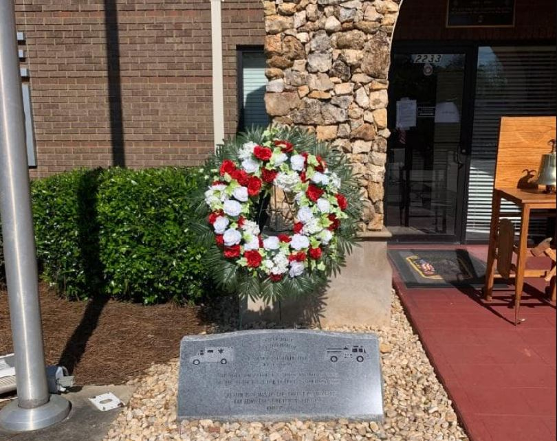 Center Point Fire District honors fallen firefighter 20 years after death