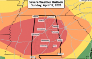 NWS expands severe weather impact area, Jefferson, St. Clair, Blount counties included