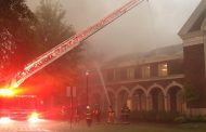 VIDEO: Fire crews battle blaze at Moody Music Building at University of Alabama