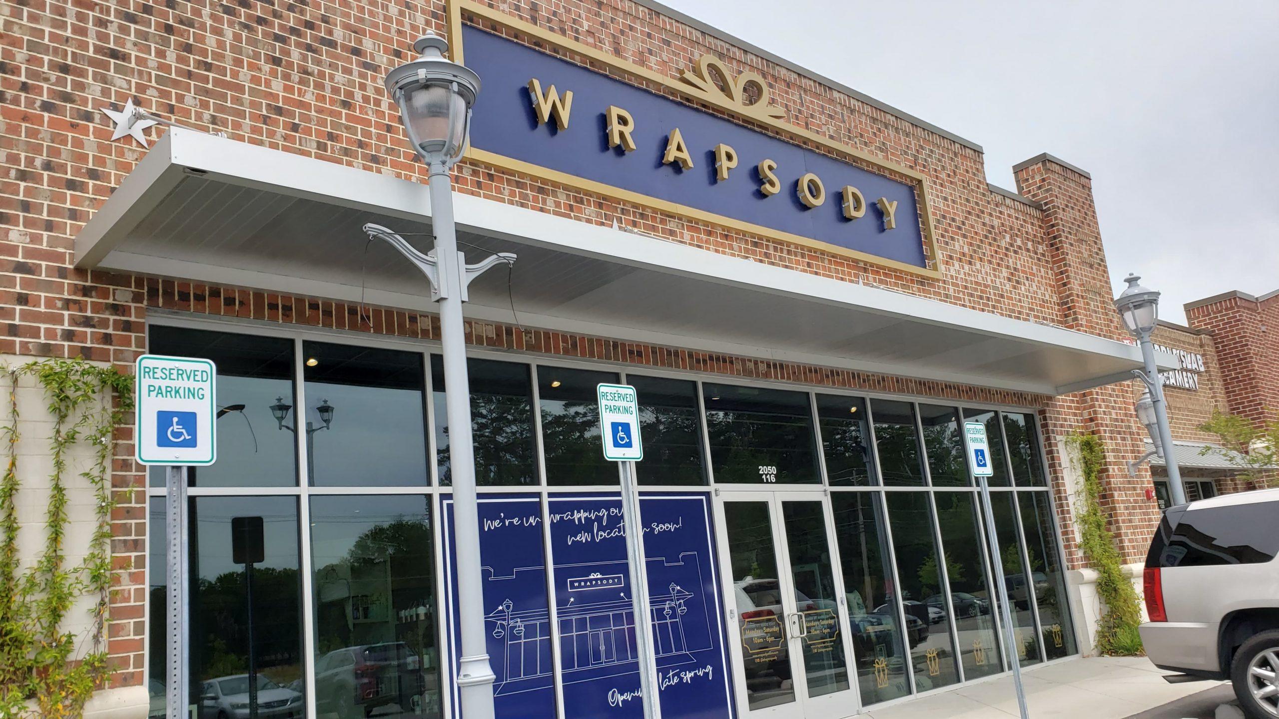 Wrapsody in Trussville opening soon