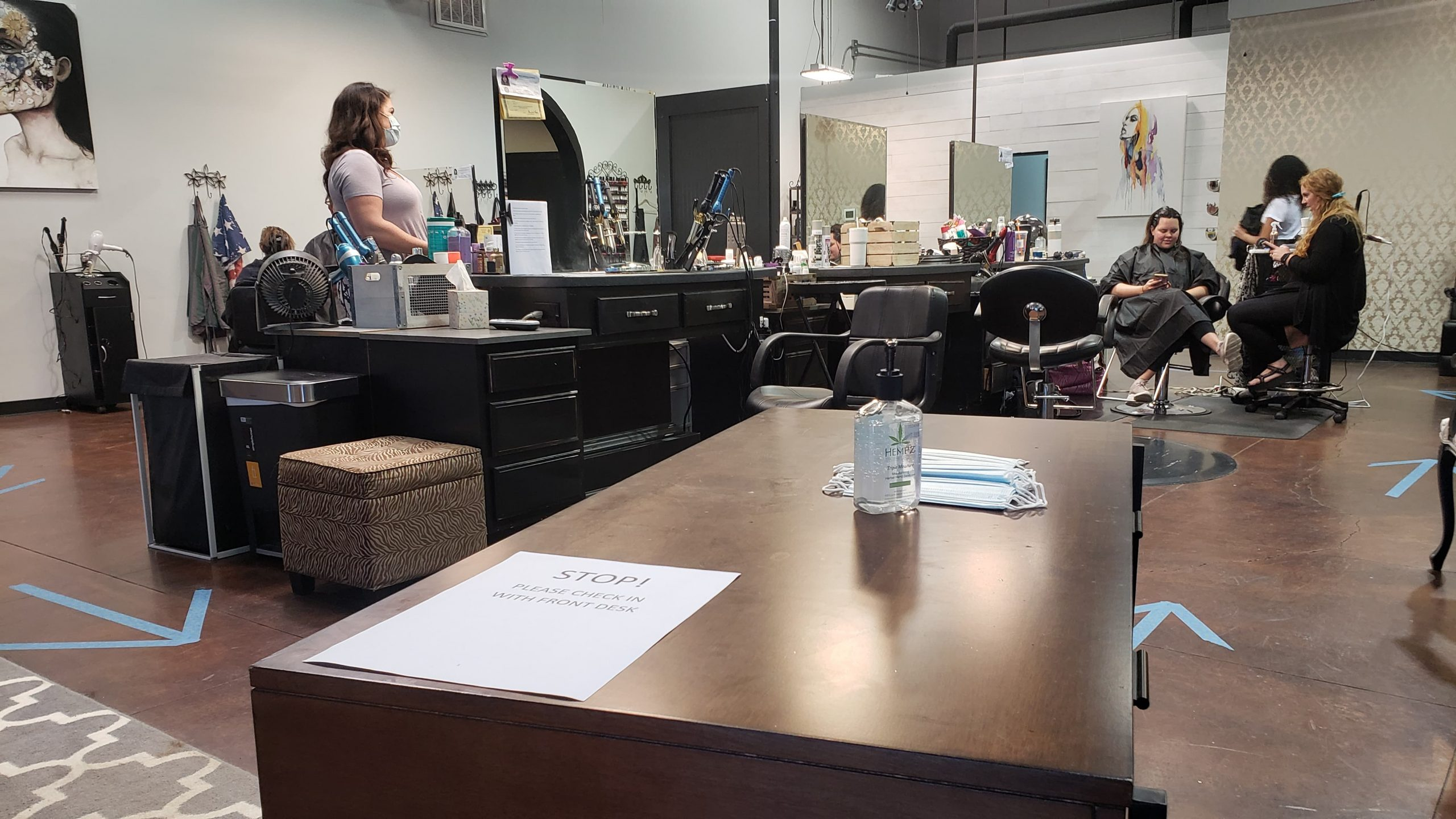 HIGHLIGHTS: Local hair salons are back in business