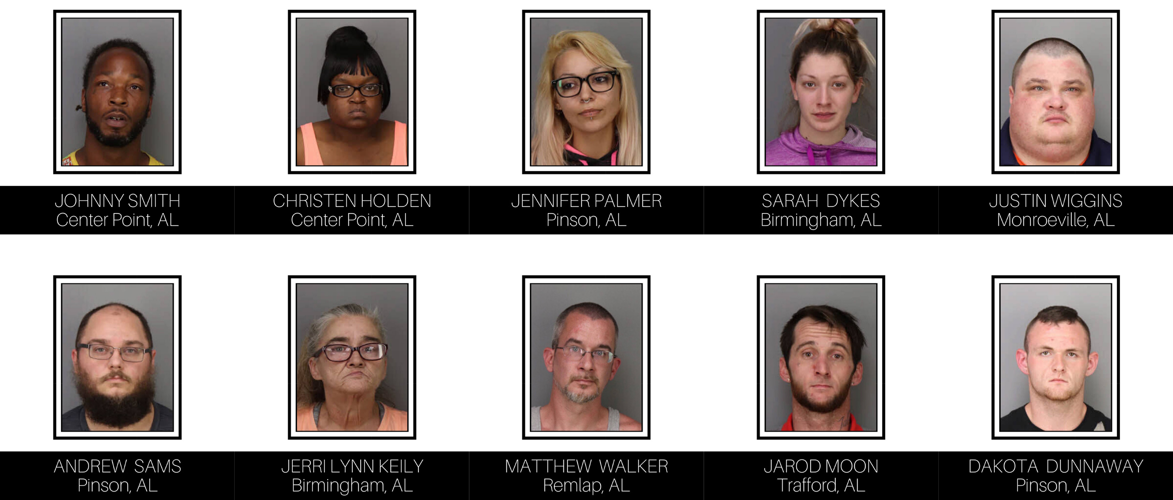 Trussville PD Shoplifting Review: Department arrests 10 for shoplifting in Trussville