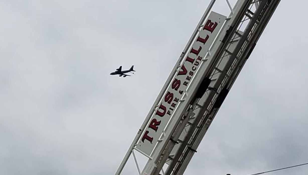 PHOTO GALLERY: Operation American Resolve flyover at St. Vincent's East