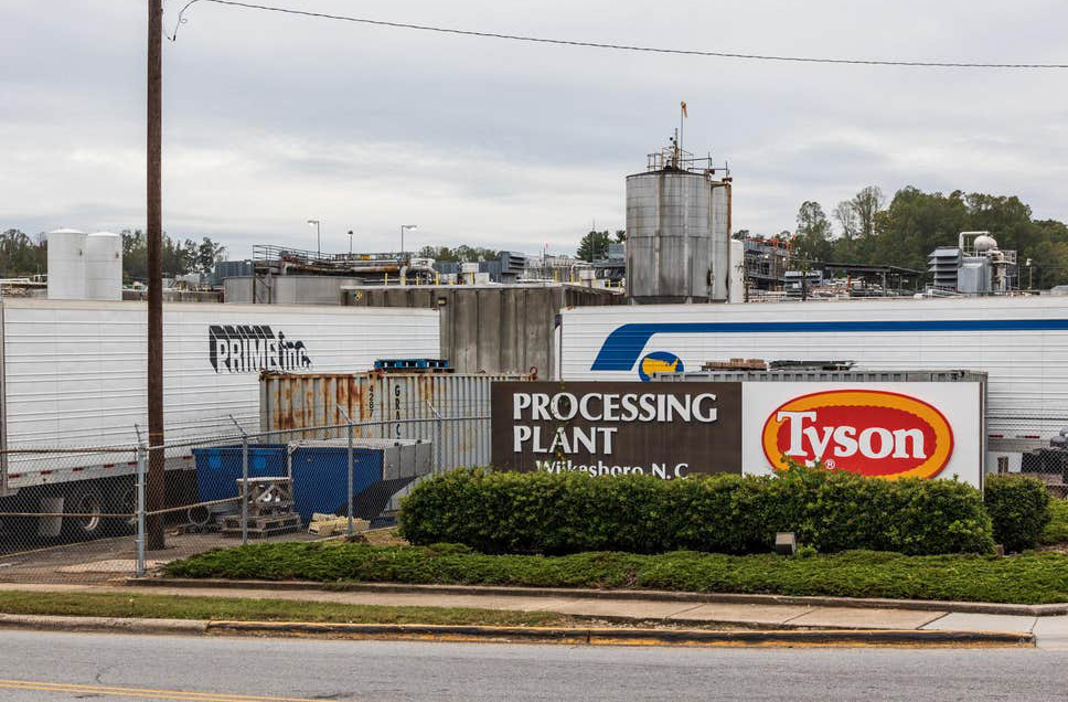 Alabama sues Tyson Foods over wastewater spill, fish kill