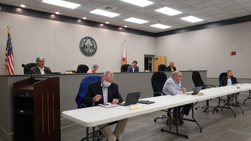 Trussville City Council approves cameras for new plaza and approves work on I-59