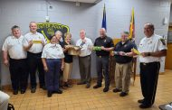 Local American Legion Post's Women's Auxiliary donates masks to Center Point Fire District