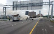 Fiery crash on Interstate 59/20 sends 1 to hospital; Traffic backed up for miles