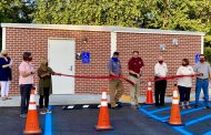 Pinson Council cuts ribbon for 100-person tornado shelter in Palmerdale