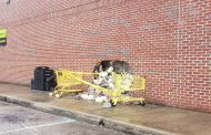 Car crashes into Dollar General in Clay