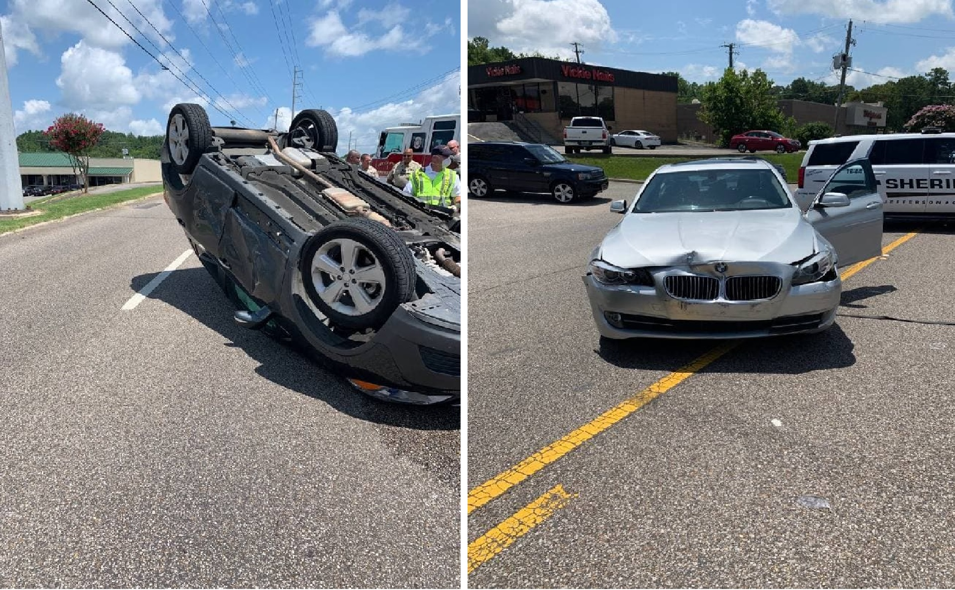 1 person taken to the hospital after crash on Center Point Parkway