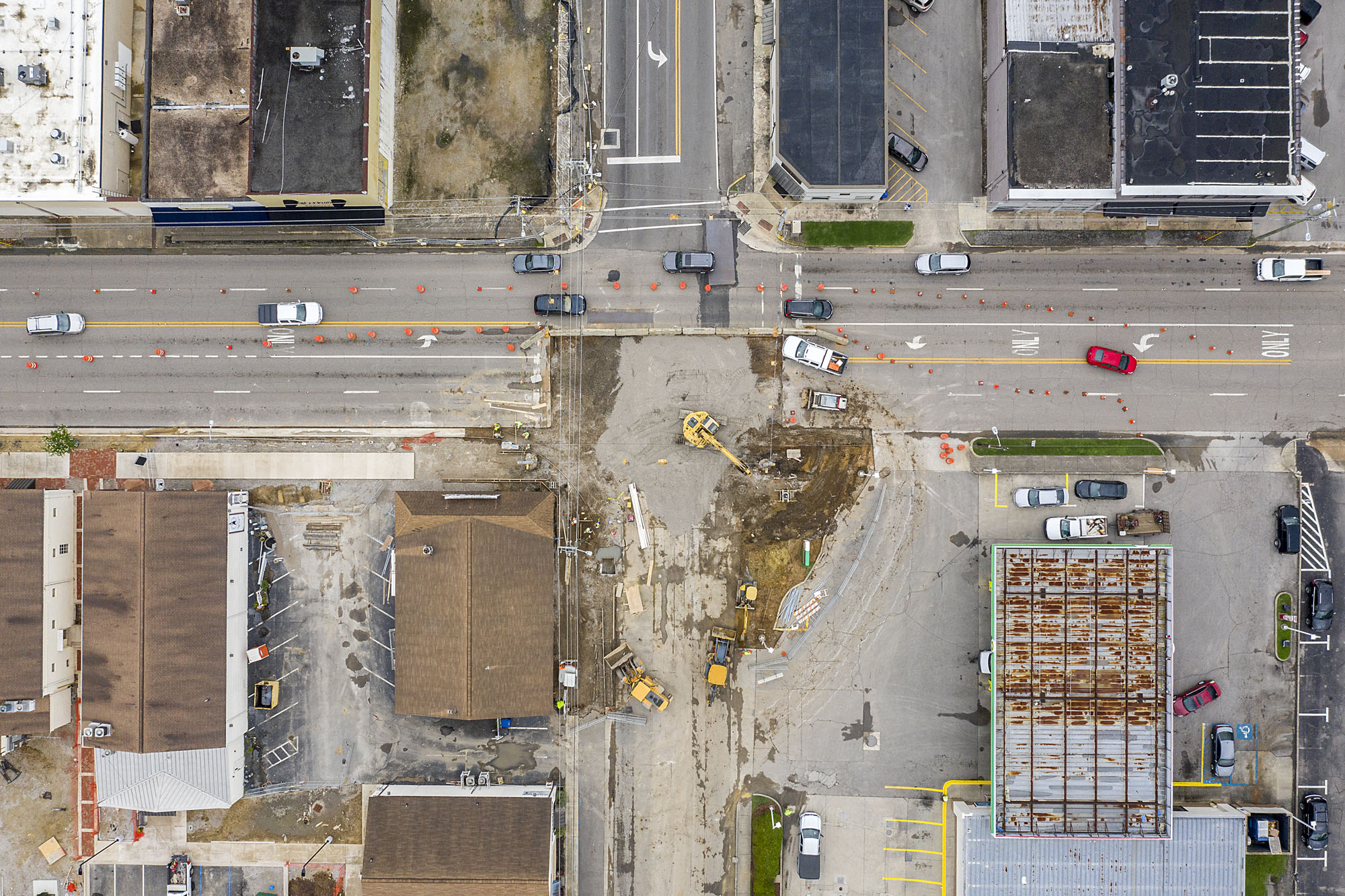 Work on downtown Trussville intersection underway, fewer delays than expected