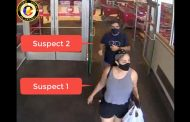 VIDEO: Vehicle break-in suspects caught on camera after using stolen cards