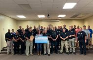 Humanizing the Badge donates more than $50K to family of fallen Moody police officer