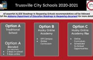 Trussville City Schools revises reopening plans, adds option for students