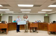 Pinson receives check from state legislators, letter of gratitude from JCBOE