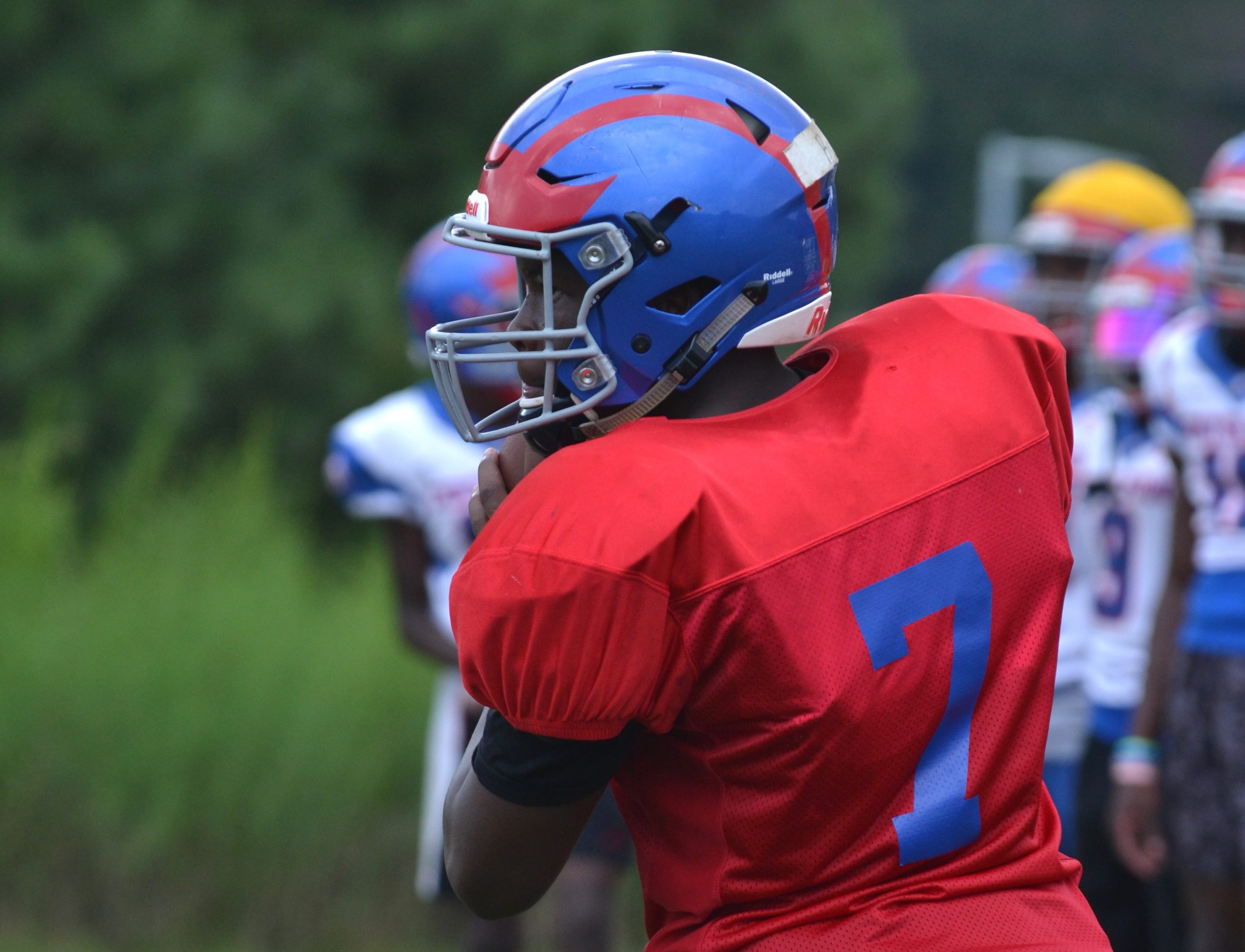 Quarterback competition continues at Center Point