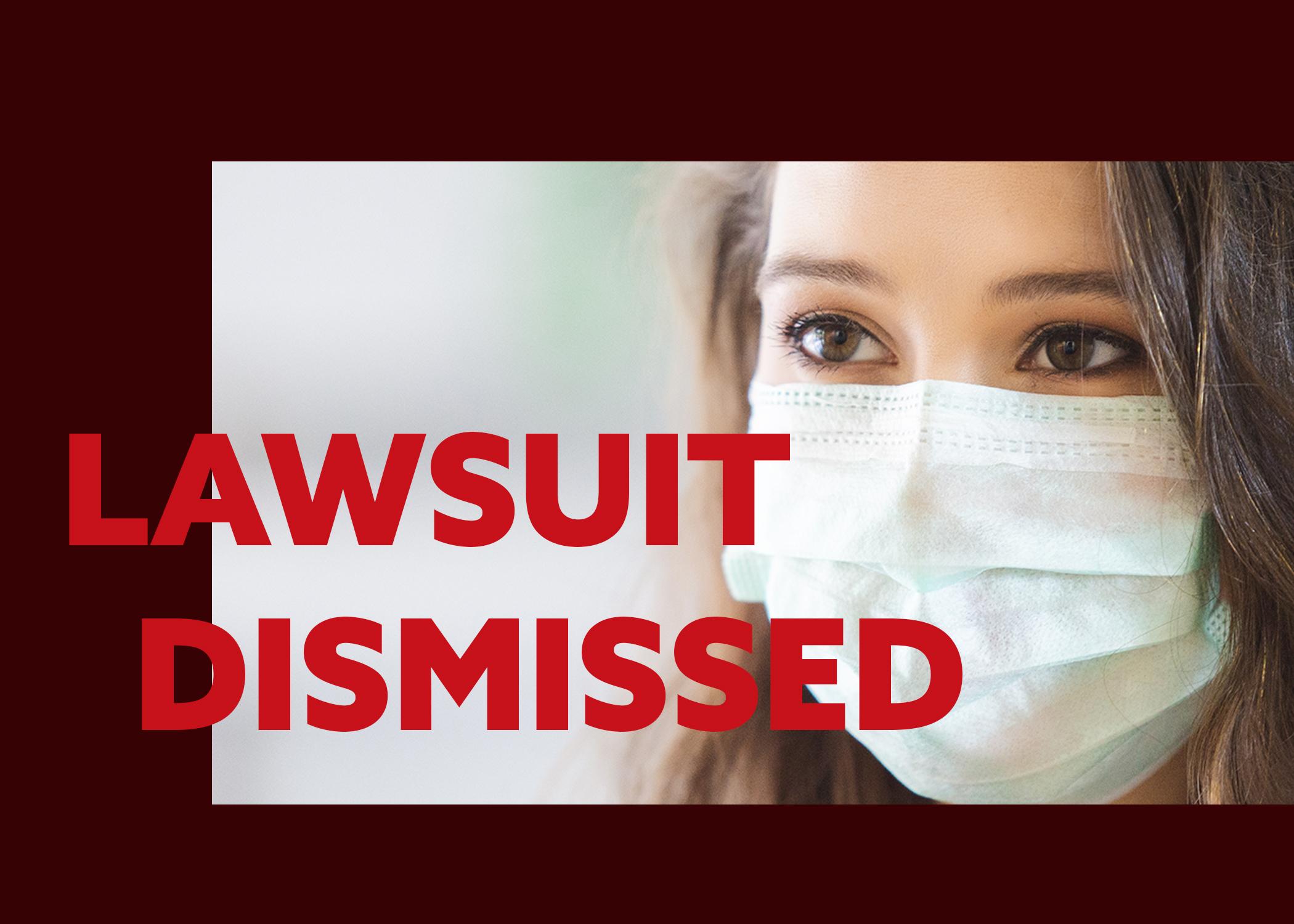 Judge dismisses lawsuit challenging Alabama mask order