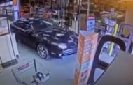 Video released from inside Home Depot showing woman driving through doors