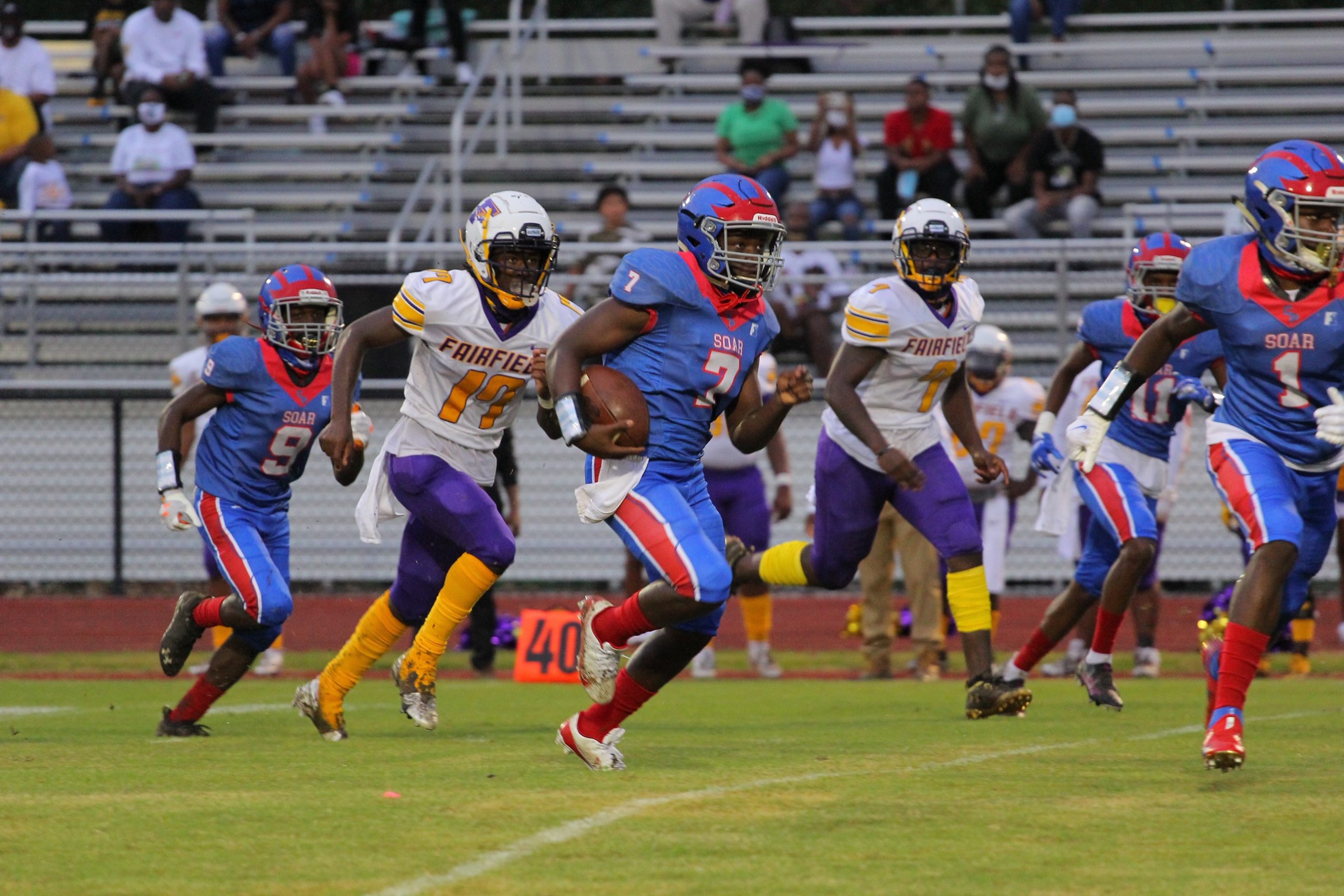 Center Point fumbles lead at home, falls to 1-1