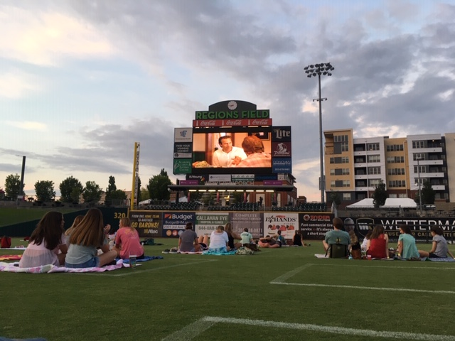 Regions Field to play Space Jam Saturday night