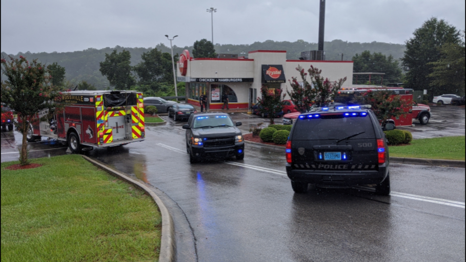 BREAKING: Trussville police on the scene of reported shooting at Krystal