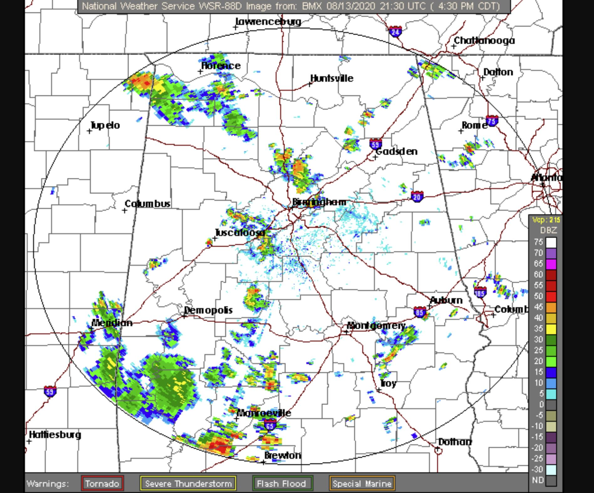 Significant Weather Advisory issued for northeastern Jefferson County, including Clay and Pinson