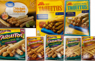 RECALL: Ready-to-Eat Taquitos and Chimichangas may contain hard plastic