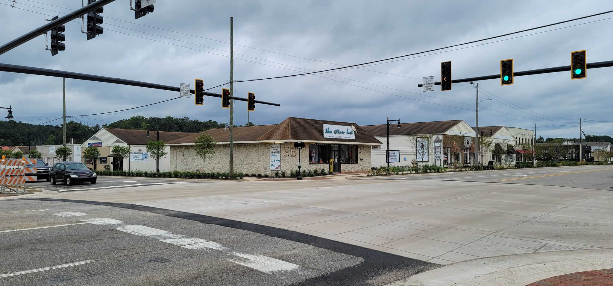 PHOTOS: Downtown Trussville intersection reopen after renovations and improvements