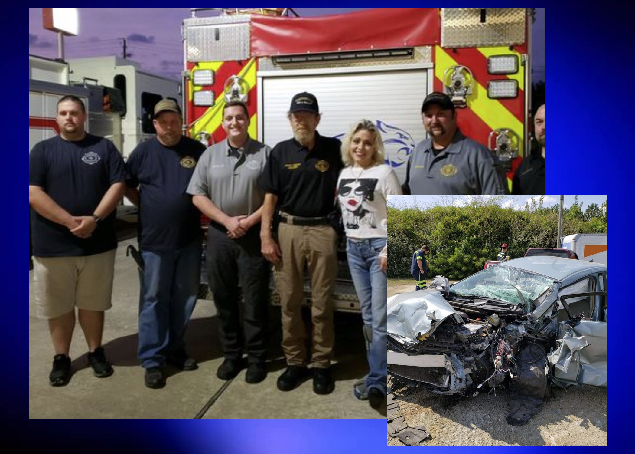 Pinson woman meets first responders who saved her life