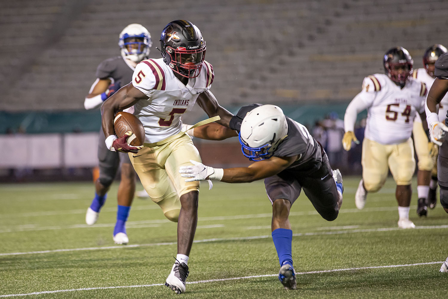 Mortimer Jordan will not travel to Pinson this Friday; Indians look for replacement opponent