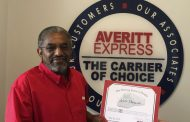 Trussville man honored for 20 years of safety with Averitt Express