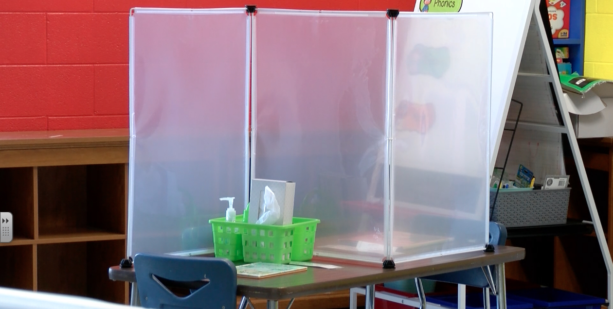 North Jefferson Rotary Club donates classroom dividers